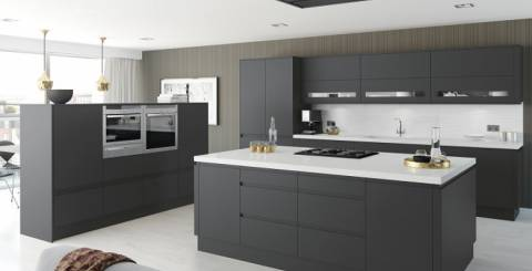 Kitchen doors and worktops