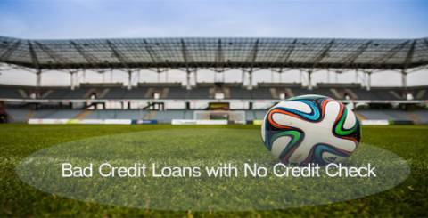 bad credit loans with no credit check