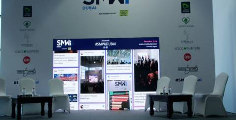 Tweet Wall at Event