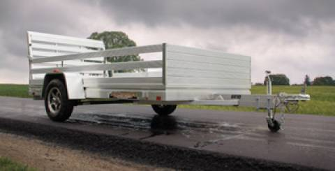 Aluminum trailer