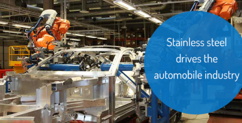 Stainless steel drives the automobile industry