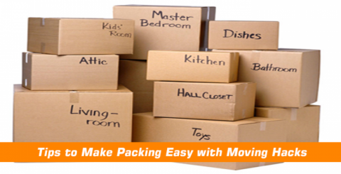 Tips to Make Packing Easy with Moving Hacks