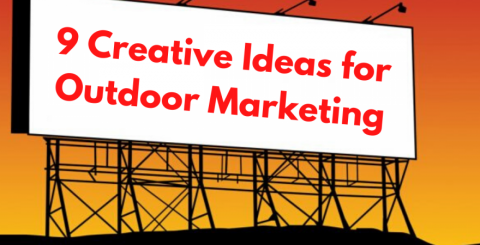Creative Ideas for Outdoor marketing
