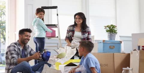 moving with families