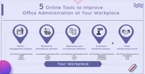 5 Online Tools to Improve Office Administration at Your Workplace