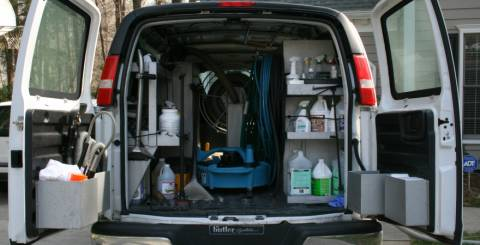 4 Space Saving Work Van Storage Ideas