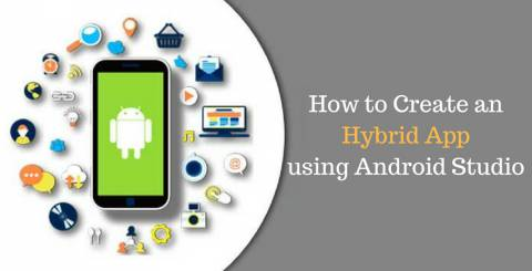 Hybrid Mobile App using Android Studio