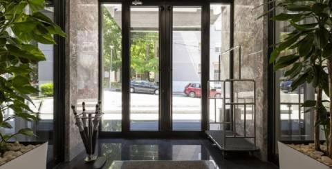 Aluminum Storefront Doors
