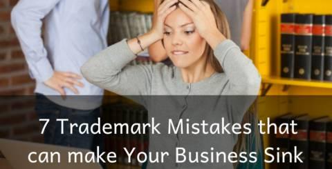 7 Trademark Mistakes