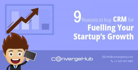 9 Reasons to Buy CRM for Fuelling Your Startup's Growth