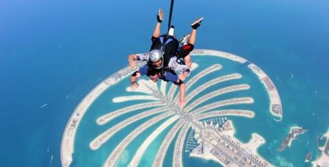 Sky Diving Dubai