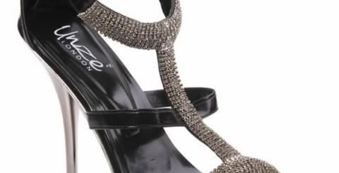 Girls evening sandals
