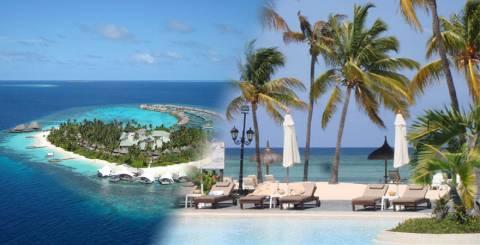 Maldives and Mauritius
