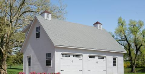 Two Story Carriage House